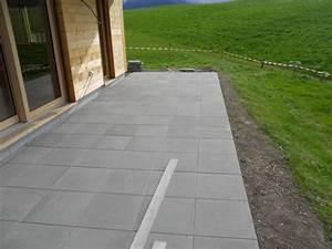exemples de realisations lietta sa leysin aigle With terrasse en beton lisse