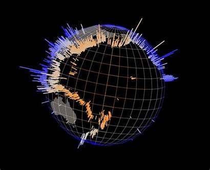 Spinning Earth End Globe Rotating 3d Animation