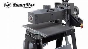 Supermax Tools 16-32 Drum Sander Review