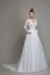 Long Sleeve Lace A-line Wedding Dress | Kleinfeld Bridal