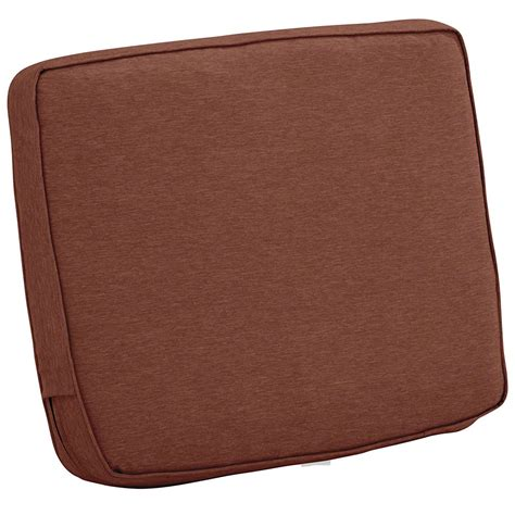 Back Cusion - 21 x 20 patio chair back cushion in outdoor cushions