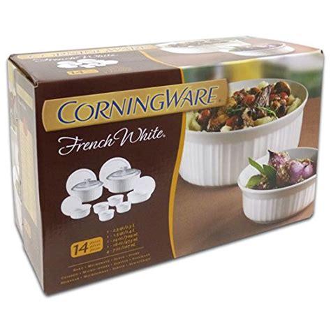 corningware french amazon bakeware casserole piece dish kitchen quart covered corning ware