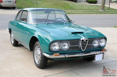 1964 Alfa Romeo 2600 Sprint, Inline 6, Restored