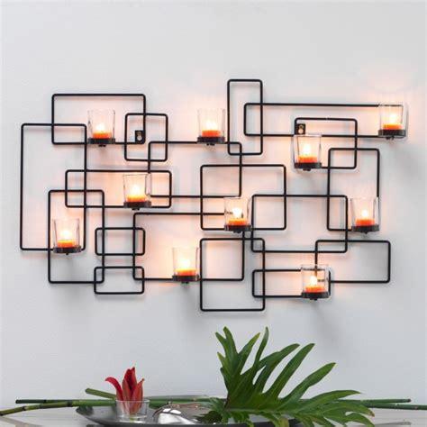 deco mural en fer photophore mural pour bougies photo 4 15 superbe photophore design noir en fer pour donner