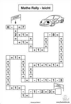 Rechen Rätsel by Zahlen Zerlegen 8 Und 9 Zahlen Bis 10