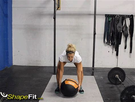 medicine ball clean crossfit exercise guide