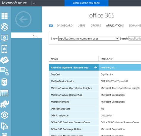 Office 365 Portal Disclaimer by Office 365 Mobile Client Apps Will Now Appears In The My