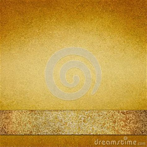 vintage gold background with brown gold ribbon
