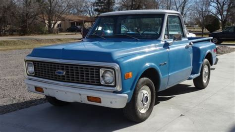 1971 chevy chevrolet c10 c 10 stepside shortbed not gmc classic chevrolet c 10 1971 for sale