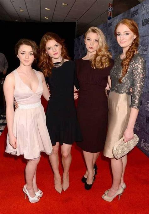 Maisie Williams, Rose Leslie, Natalie Dormer and Sophie ...