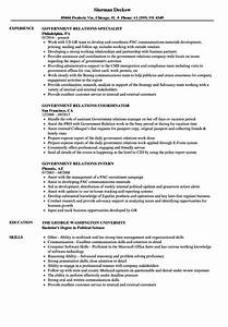 unique sample resume government affairs sketch resume With government relations resume