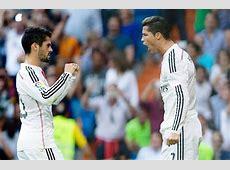 Foto Selebrasi Cristiano Ronaldo dan Isco Foto 17 dari 18