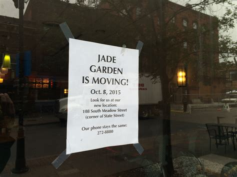 jade garden ithaca eatery by ithaca commons moving to s meadow st