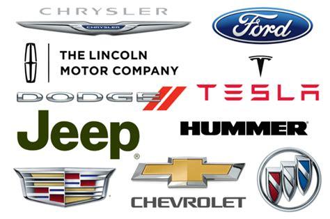 The Most Popular American Car Brands  Car Brand Namescom