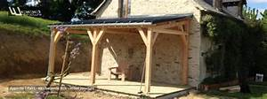 charpente appentis bois wood structure With lovely faire plan de maison 3 appentis 1 pan l wood structure