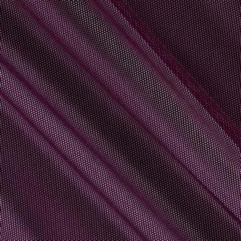 spandex stretch illusion shaper mesh eggplant discount designer fabric fabric