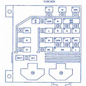 Kia Sportage 2003 Engine Lighting Fuse Box  Block Circuit Breaker Diagram  U00bb Carfusebox
