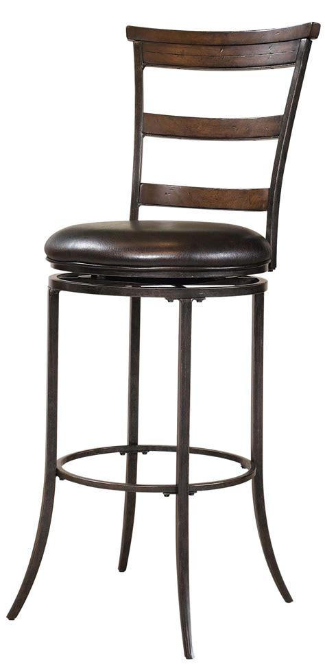 bar stools nc hillsdale metal stools cameron swivel ladder back bar 4311