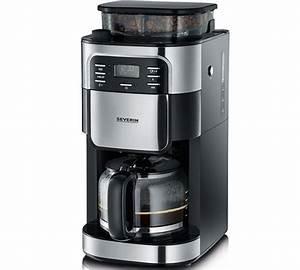Tec Star Kaffeemaschine Mit Mahlwerk Test : cafeti re filtre avec broyeur severin ka 4810 inox ~ Bigdaddyawards.com Haus und Dekorationen