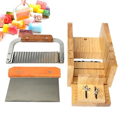 Diy Brand One Soap Mold Loaf Cutter Adjustable Wood And