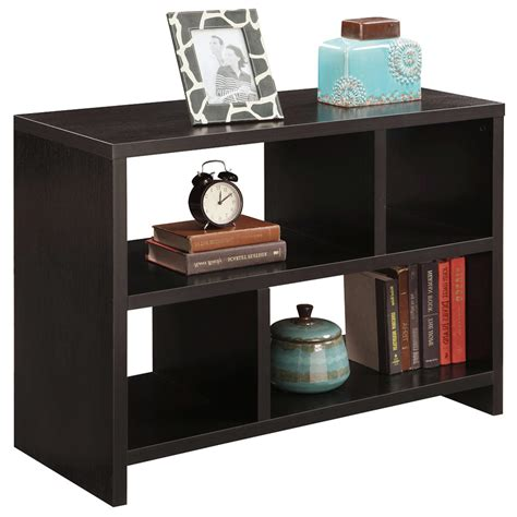Bookcase Console by Northfield Bookcase Console Table In Accent Tables
