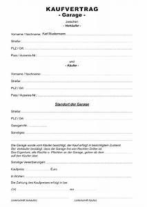 Kaufvertrag Haus Privat : kaufvertrag garage formulare gratis ~ Lizthompson.info Haus und Dekorationen