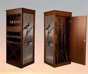 Hidden Wood Gun Cabinet NeilTortorella com