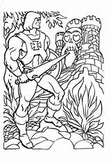 Coloring Pages He Universe Sheets Angel Guardian Masters Castle Grayskull Cartoons Colouring Printable Cat She 80s Books Clipart Ra Shera sketch template