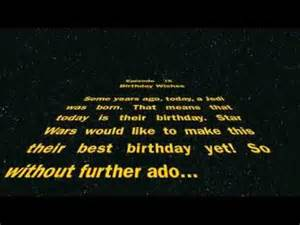 Funny Star Wars Happy Birthday Wishes