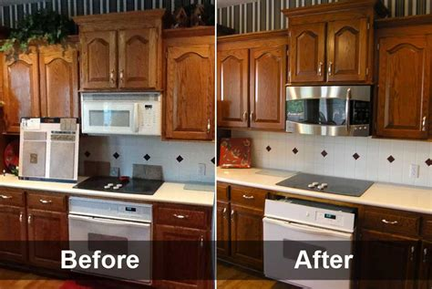 refinishing oak kitchen cabinets before and after refinishing oak kitchen cabinets neiltortorella