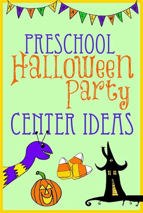 center ideas for preschool kindergarten 846 | Preschool Halloween Party Center Ideas
