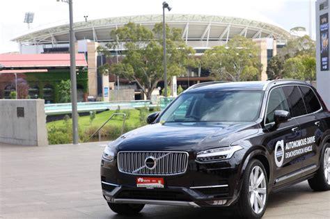 autonomous vehicles  australian roads   volvo