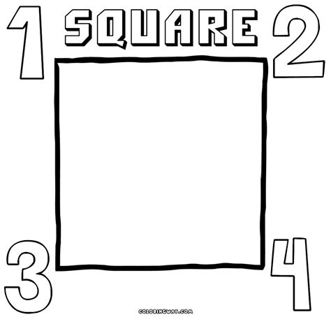 square coloring pages square coloring pages coloring pages to and print