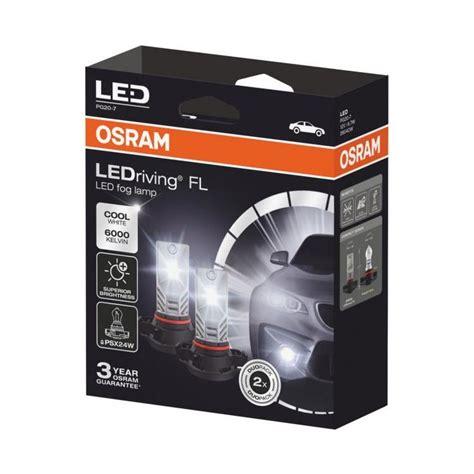 osram ledriving fl  generation led psxw twin car headlight bulbs powerbulbs uk