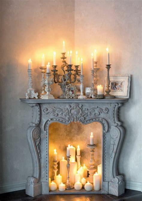 Kamin Als Deko by Deko Kamin Romantische Stimmung Mit Kerzen Und Laternen