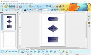 How To Set Up A Flowchart With The Libreoffice Draw