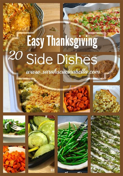 cuisine simple 28 top 28 easy thanksgiving side dishes 130 best