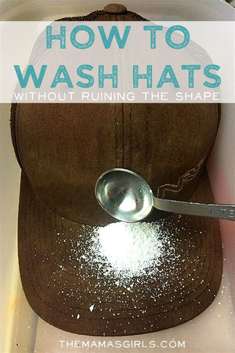 wash hats  jeopardizing  shape