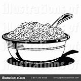 Cereal Bowl Clipart Coloring Illustration Template Sheet Pages Nortnik Andy Royalty Rf Getdrawings Printable Print Getcolorings Cart sketch template