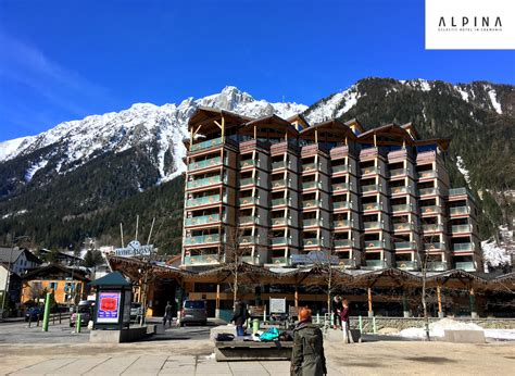 Hotel Alpina Chamonix Parking