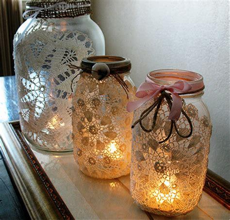 Decorating Ideas Glass Jars by Craft Ideas Glass Jars Best Cool Craft Ideas