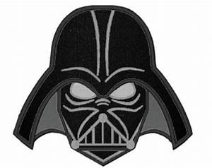 Darth Vader clipart face - Pencil and in color darth vader ...