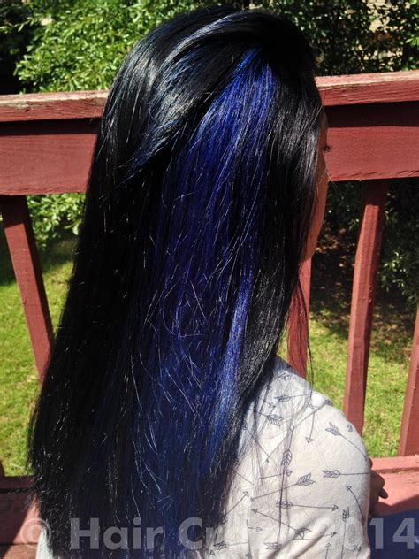 dyed  sisters hair black  blue forums haircrazycom