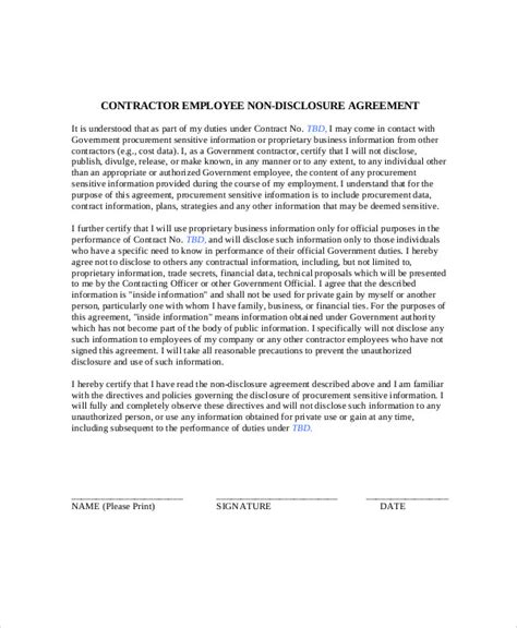 sample contract employee agreement templates
