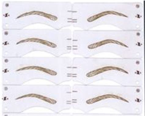 Eyebrow Templates Printable by Eyebrow Stencil By Beuaty Center China