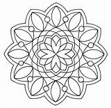 Coloring Pages Mandala Simple Adult Easy Adults Heart Colouring Sheets Survival Advanced Books Kits Kit Spa Getdrawings 321coloringpages sketch template