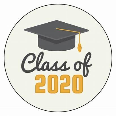 Graduation Class Labels Label Templates Circle Onlinelabels