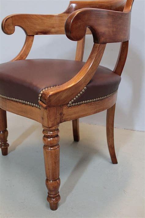 bureau merisier louis philippe fauteuil de bureau louis philippe en merisier xixeme