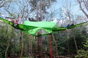 Suspended Tree Tent Camping