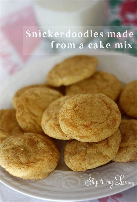 easy snickerdoodle recipe skip   lou
